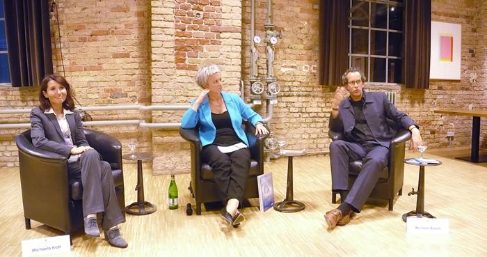 Podiumsdiskussion mit Antoinette Beckert